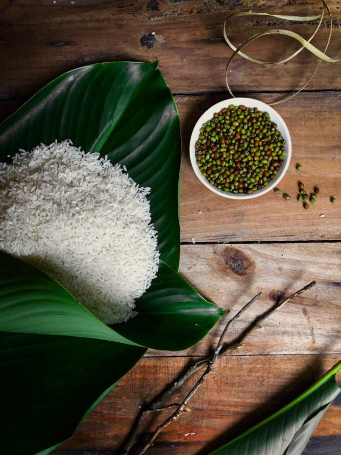 history of rice