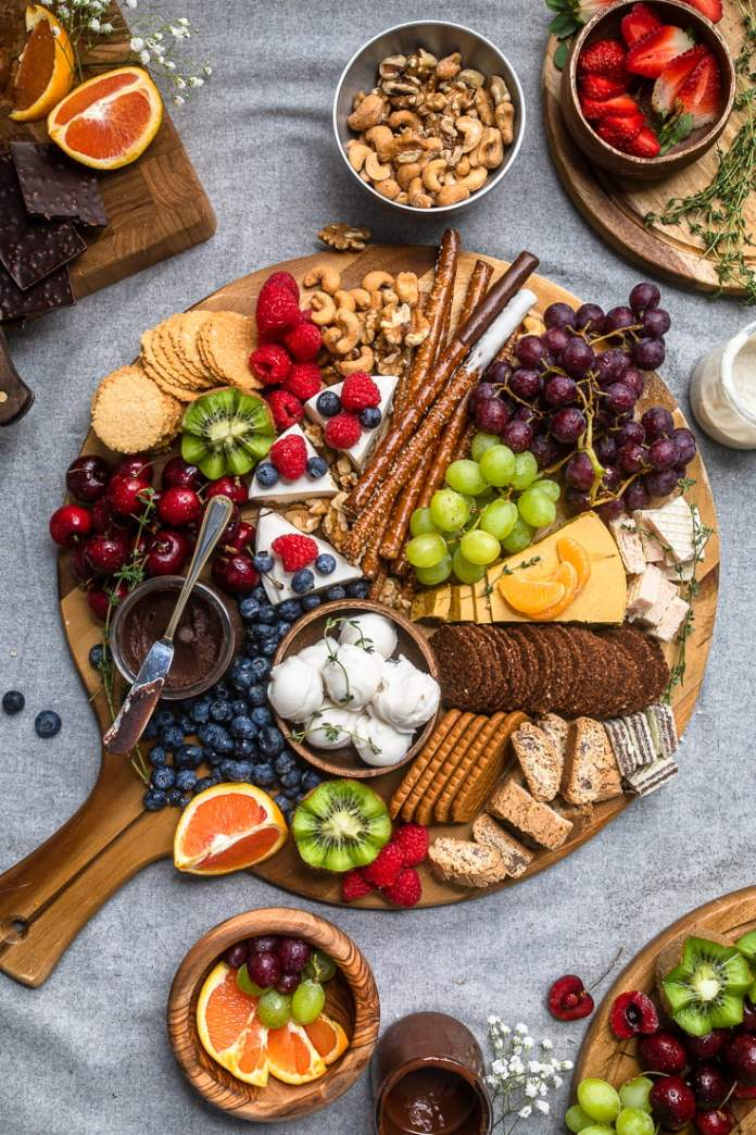 Vegan Valentine's Day recipes: charcuterie board