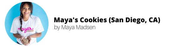 Women-Owned Vegan Bakeries: Maya's Cookies by Maya Madsen