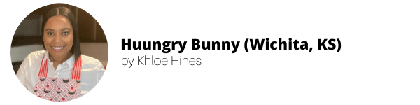 Women-Owned Vegan Bakeries: Huungry Bunny by Khloe Hines