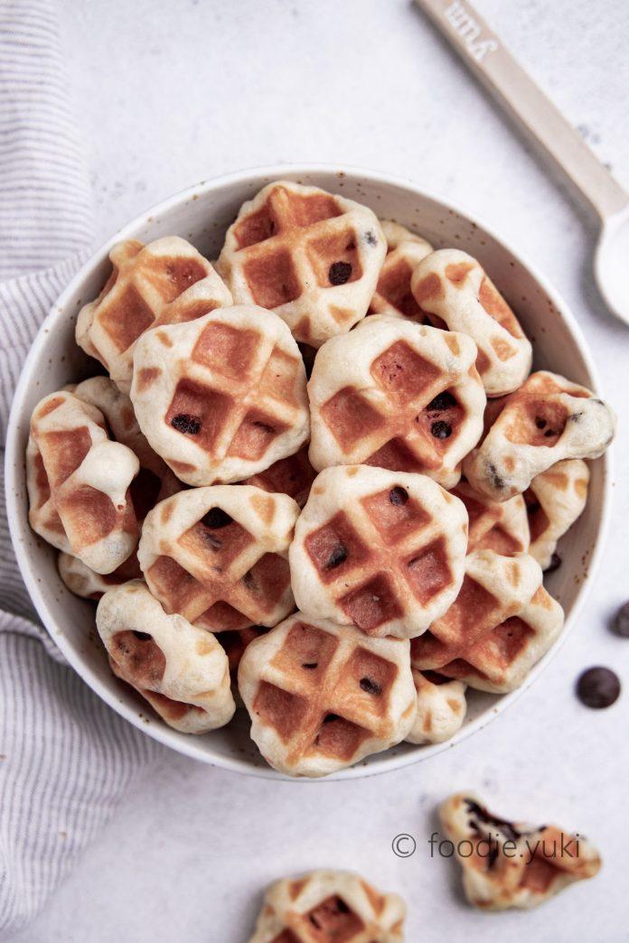 vegan mini waffle recipe