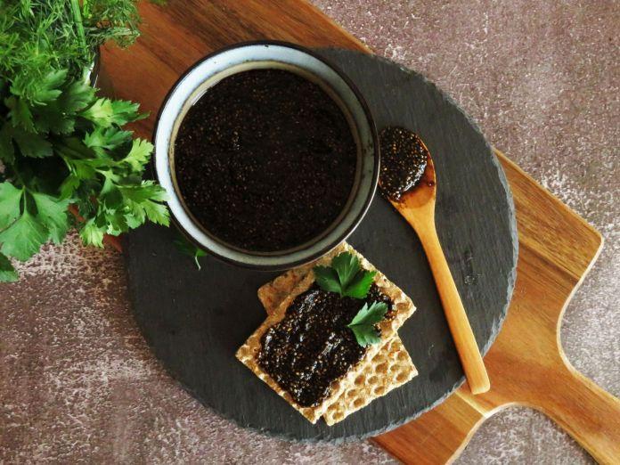 Vegan Chia Caviar