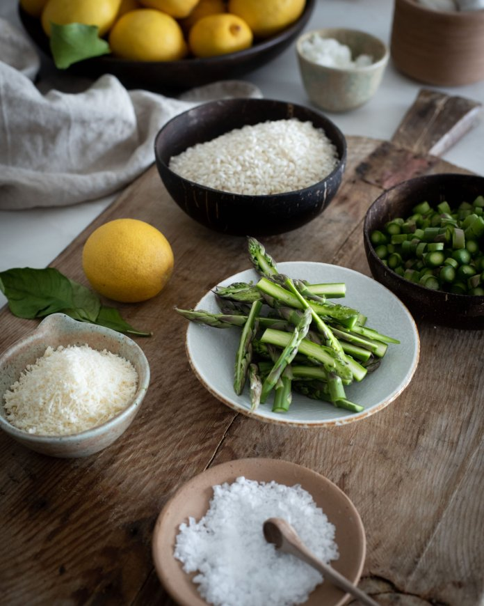 All About the Veg: Creamy Lemony Asparagus Risotto