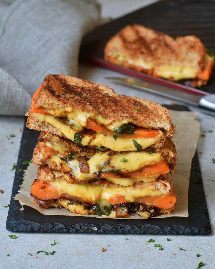 vegan grilled cheese recipe