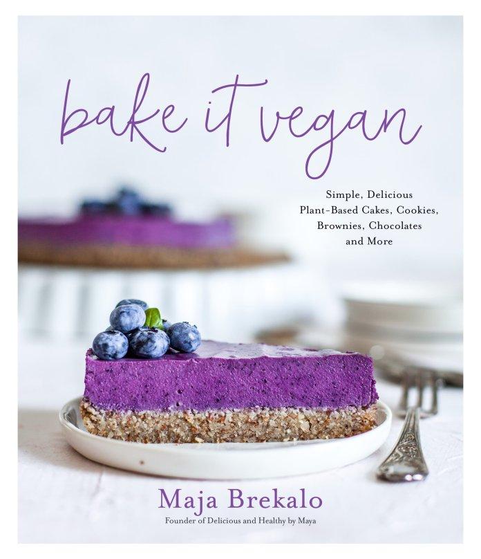 Bake It Vegan book cover (for Vegan Sacher Torte recipe)