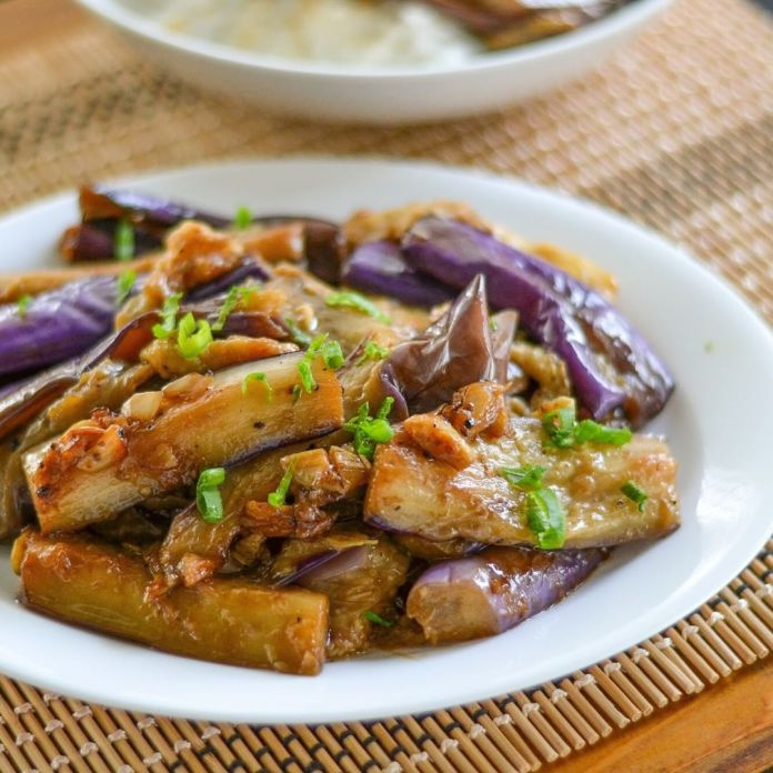 Vegan Filipino Cuisine: Eggplant Adobo