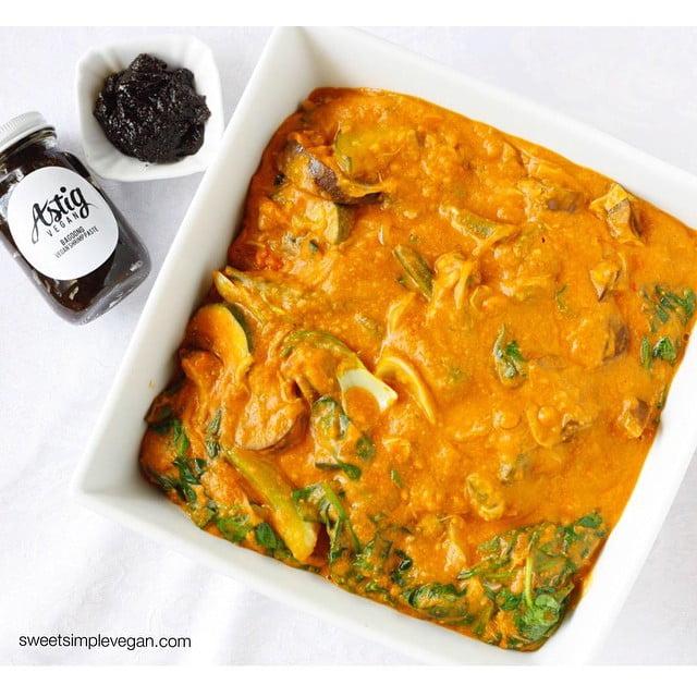 Vegan Kare Kare (Filipino Peanut Stew) + Bagoong