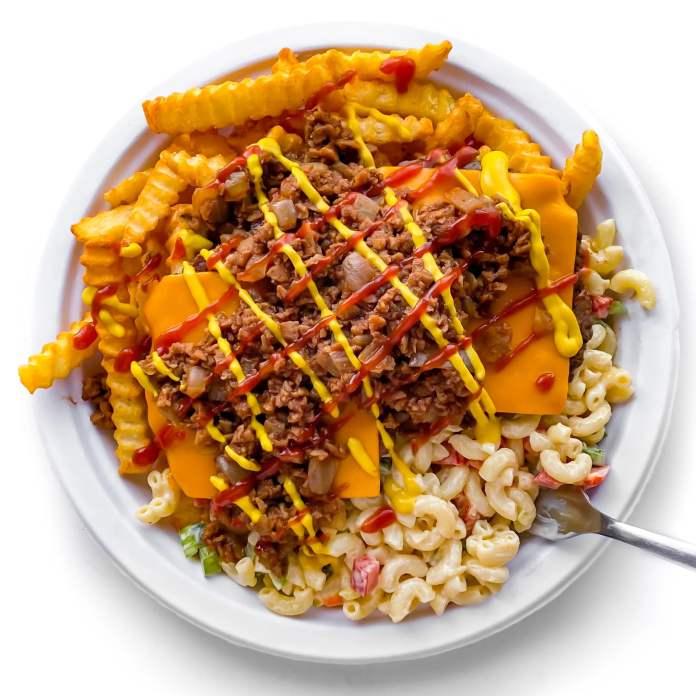 Vegan Trash Plate
