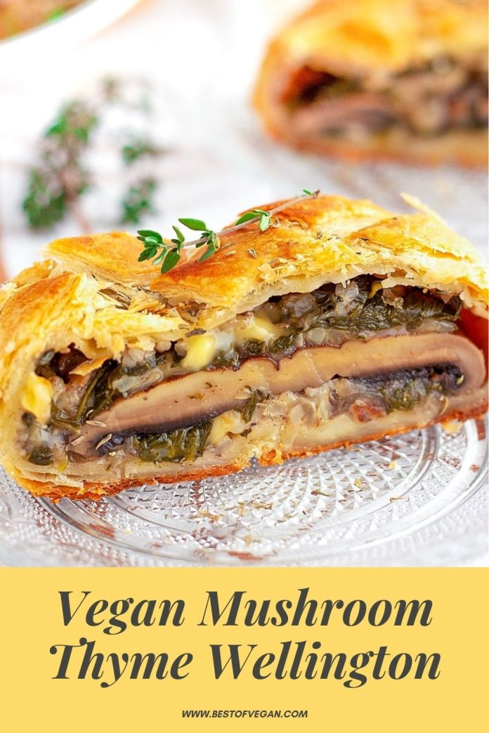 Vegan Mushroom Thyme Wellington