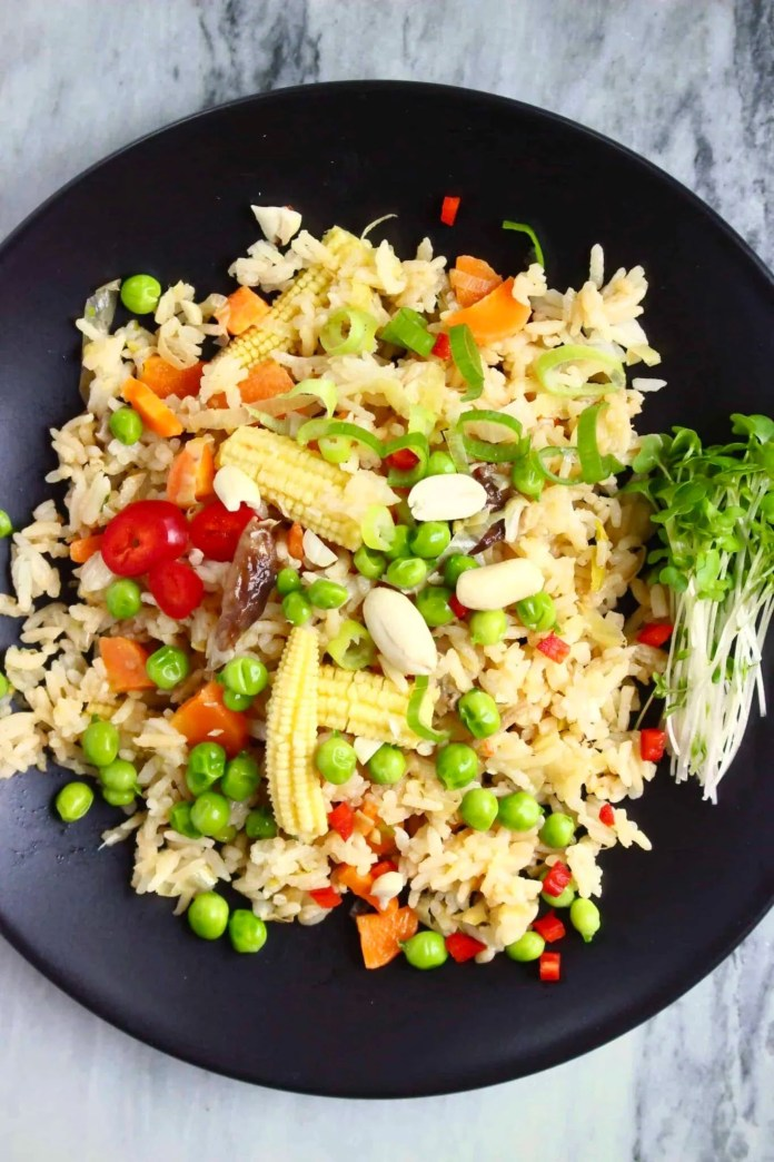 Fried Rice with Peanut Butter
