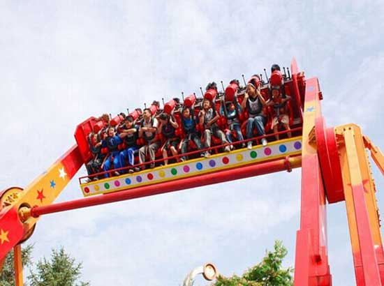Amusement park space travel rides for sale