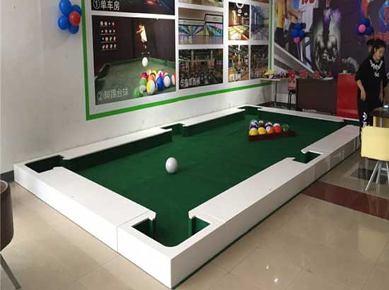 Amusement rides- popular type snookball table for sale