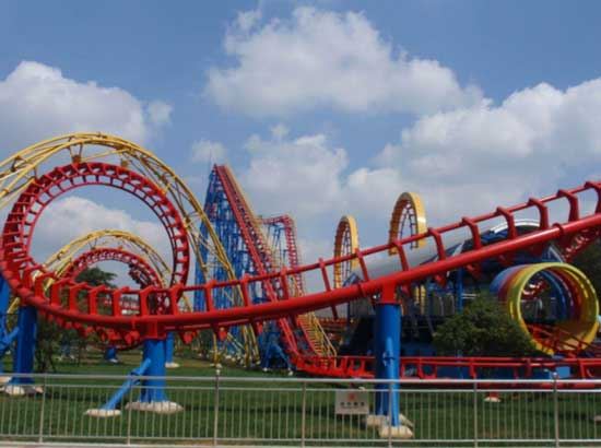Beston Large Roller Coaster Rides for Sale