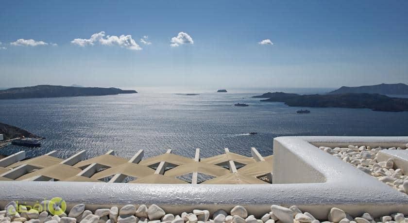 فيلا كالديراز ليليوم افضل فنادق سانتوريني الجزيرة اليونانية الساحرة