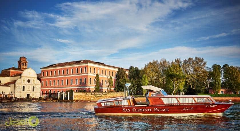 سان كليمنتي بالاس كمبينسكي فينيس افضل فنادق فينيسا البندقية الإيطالية مدينة الرومنسية