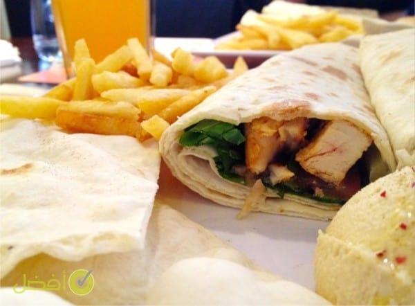 فطور مطعم الصاج الريفي في الرياض