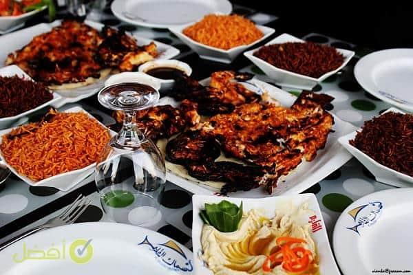 مطعم القلزم افضل مطعم سمك في جدة