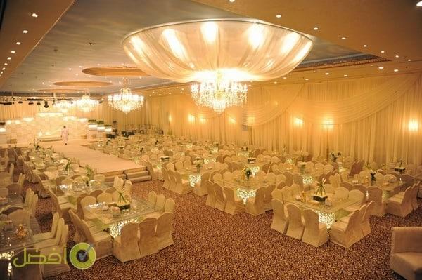قاعة ليلة زفافي المميزة قاعات المدينة للشبكات