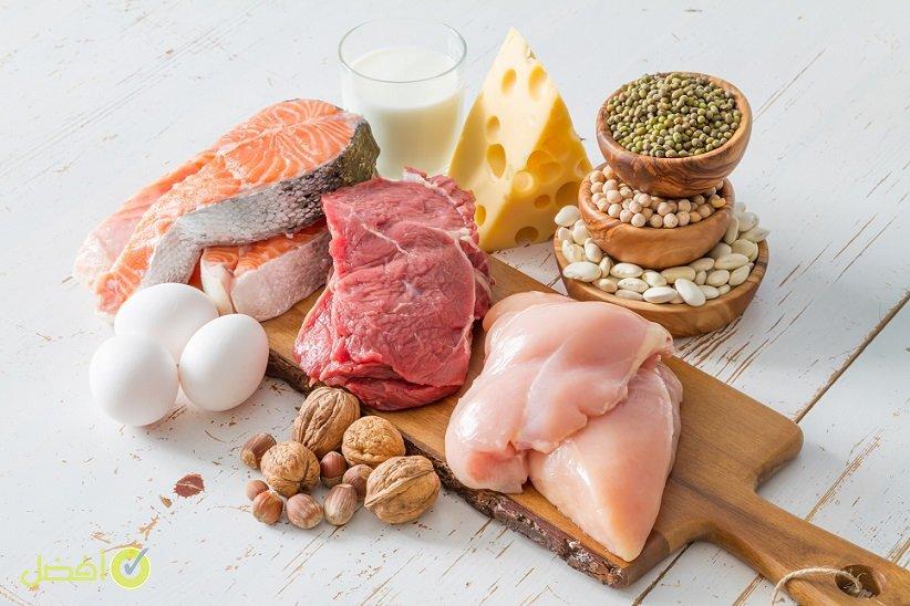 تناول اللحوم والأسماك والبيض غذاء الحوامل