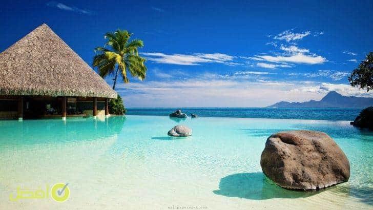 شهر العسل في جزيرة تاهيتي