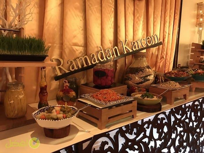 بوفيه مجلس ليالي رمضان