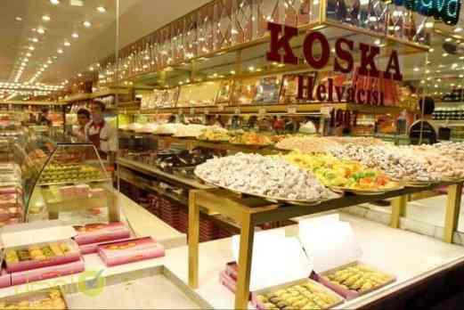 محل كوسكا للحلقوم في اسطنبول Koska افضل محل لبيع الحلقوم في اسطنبول