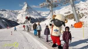 منتجع زيرمات سويسرا للتزلج على الجليد