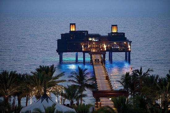 مطعم بير شيك للمأكولات البحرية في دبي