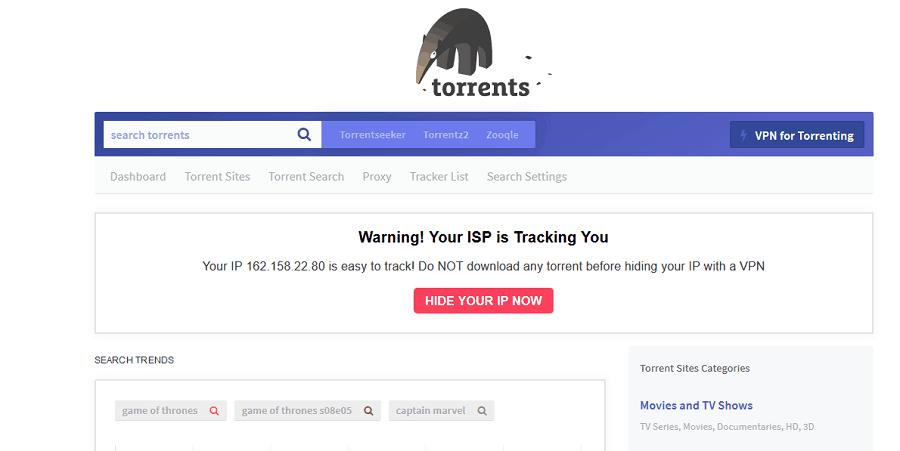 Torrents.me موقع تورنت الاصلي
