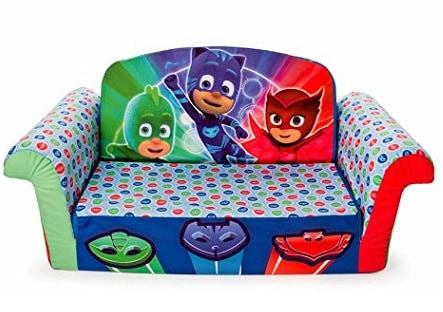 كنبة مارشميلو بي جي ماسكس Marshmallow PJ Masks 2 in 1 Foam Sofa