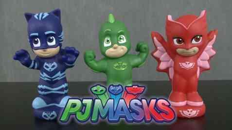 PJ Masks Squirters Bath Toys