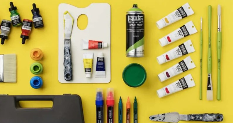 History of excellence of acrylic colors