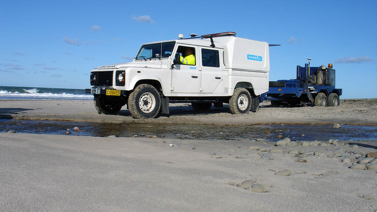 Geophysical service in India