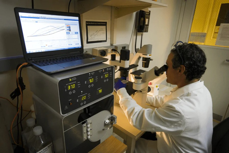 Chip-based DNA synthesis