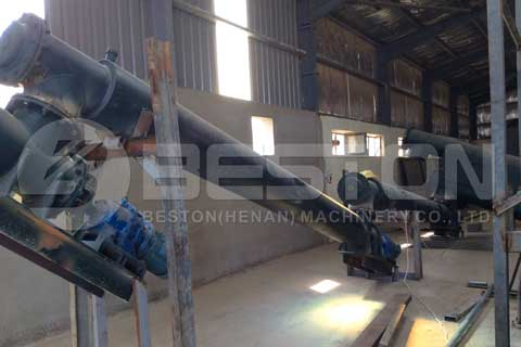 Plastic to Oil Conversion Plant