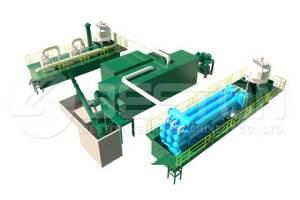 Auto Pyrolysis Plant