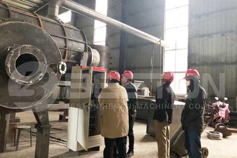 Charcoal Making Machine in Malaysia