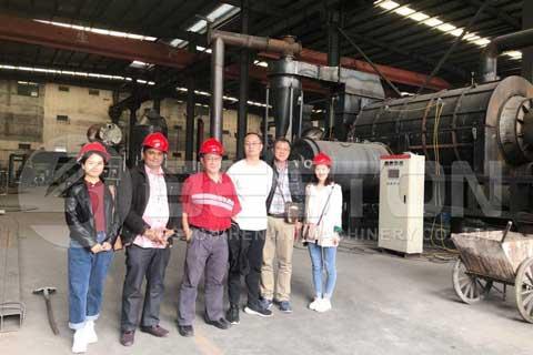 Malaysian Charcoal Making Machine