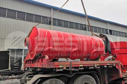 Wood Charcoal Machine Russia