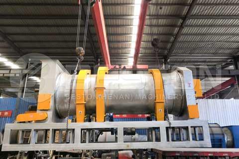MSW Carbonization Machine