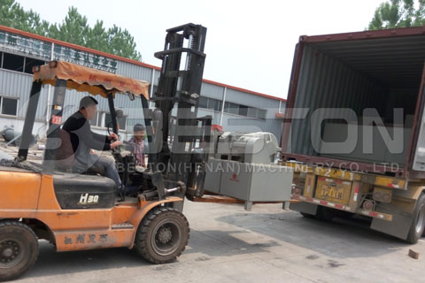 Tire Pyrolysis Machine Shipped to Brazil