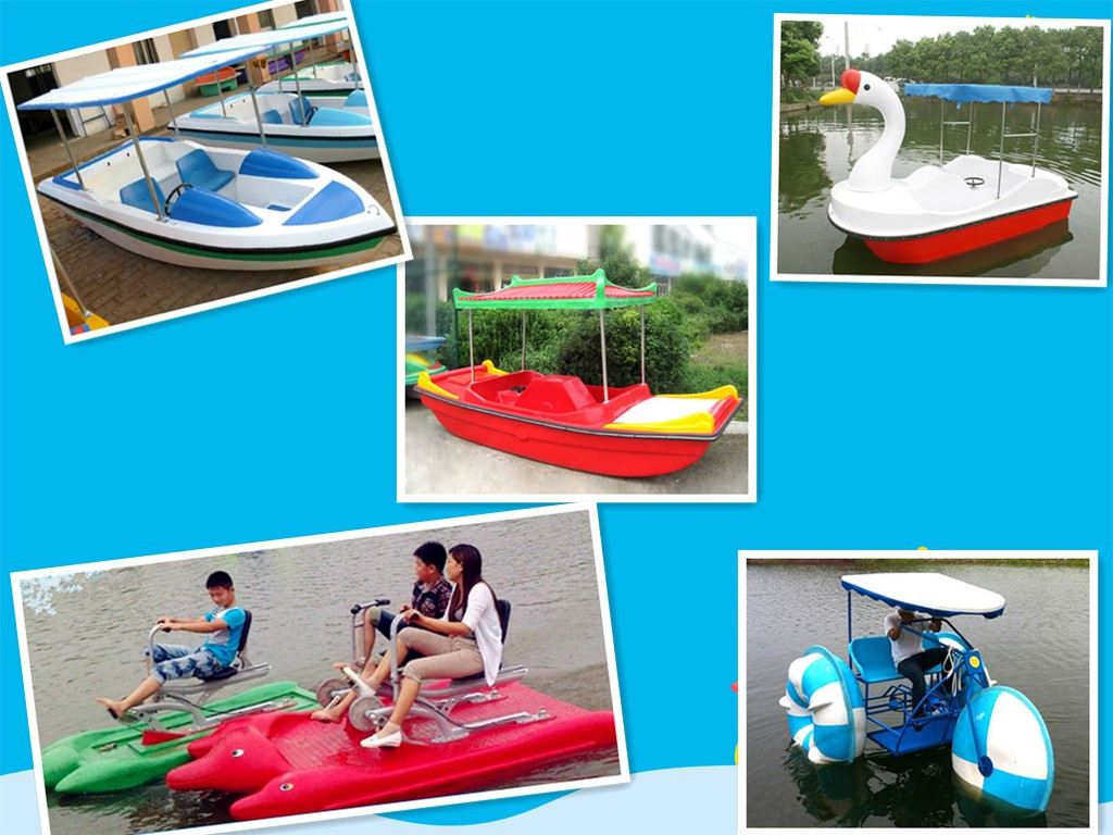 Paddle Boats and other water rides for sale in Beston