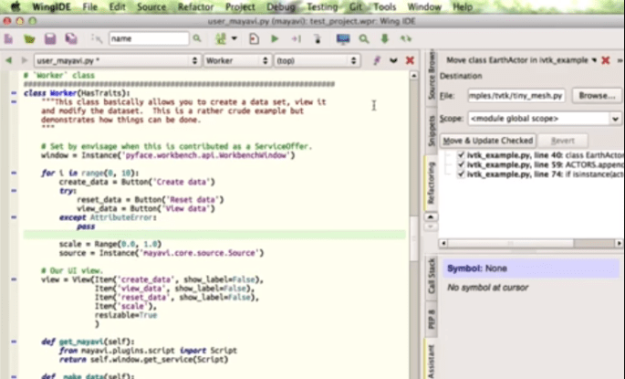 wing ide for python