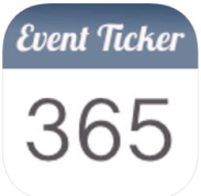 event ticker app for iphone