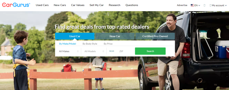 CarGurus for Used Cars, New Cars