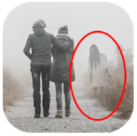 Ghost in Photo Prank