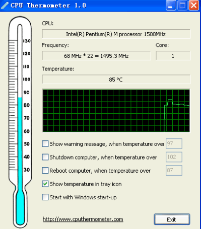 cpu thermometer software