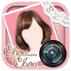 ChouChou Virtual Hair Try-on iphone