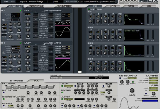 Helix vst plugin