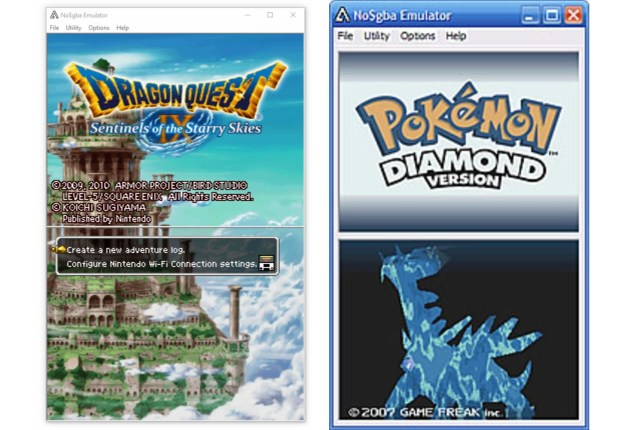 NO$GBA emulator 3ds